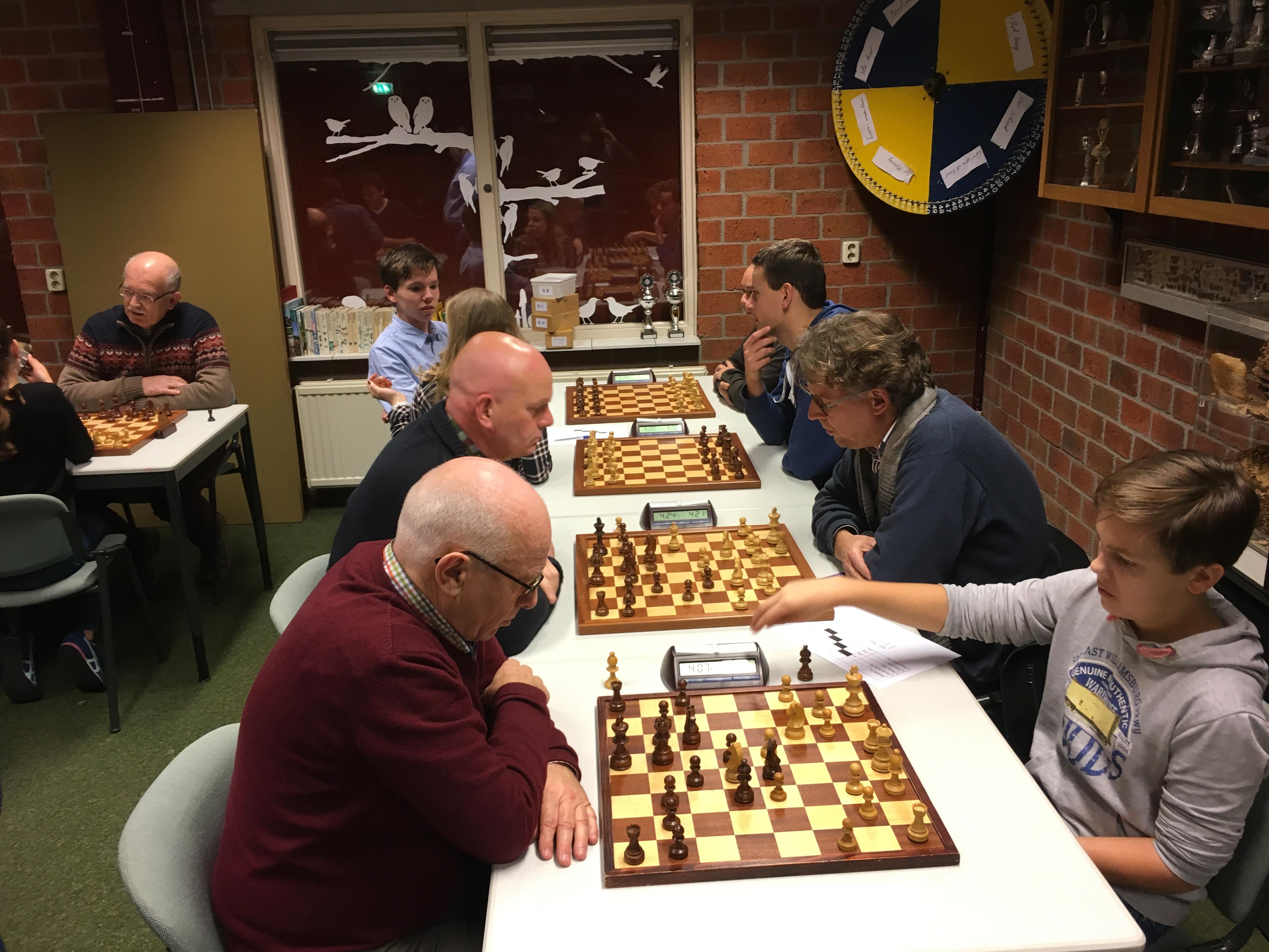 Plaatsingslijst bekercompetitie schaken
