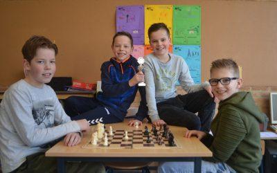 Kon. Julianaschool schoolschaakkampioen 2018!